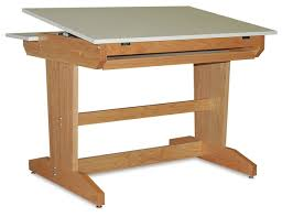 Oak Drafting Table Make A Wood Drafting Table The Architects Table Part Ten Youtube