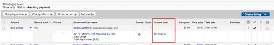 how to add a custom label sku to an ebay order u2013 shippingeasy
