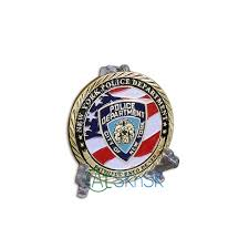 Flag Of New York City 1pcs Us Flag New York City Police Department Nypd Challenge Coin