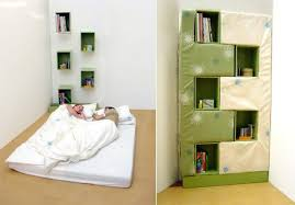 Bookcase Murphy Bed Bookcase Into A Bed A New Take On The Murphy Bed Treehugger