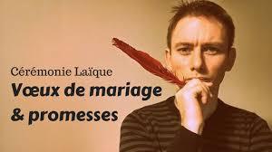 crire ses voeux de mariage cérémonie laïque vœux de mariage et promesses