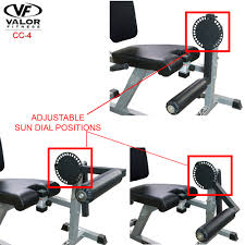 cc 4 leg curl extension machine