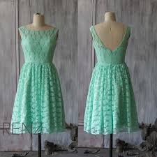 2015 lace bridesmaid dress mint bridesmaid dress party dress