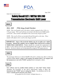 recall service instructions jeep shifter battery charger