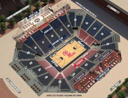 arena floor plans seating chart the pavilion at ole miss basketball