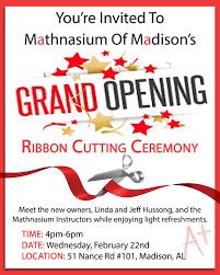 grand opening ribbon ribbon cutting grand re opening ceremony mathnasium