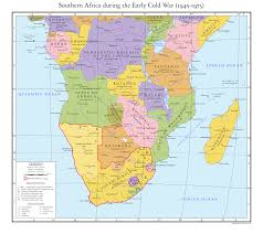Southern Africa Map by Southern Africa During The Early Cold War By Reagentah On Deviantart