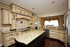 Stylish Antique White Glazed Kitchen Cabinets Kitchen Cabinets - Antique white cabinets kitchen