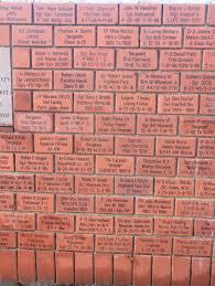 Pink Brick Wall Memorial Brick Wall Los Angeles Police Museum