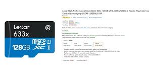 best 120gb micro sd card black friday deals deal 128gb lexar microsd card for just 60