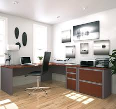 L Shaped Desk With Locking Drawers by Shaped Workstation With Lateral File