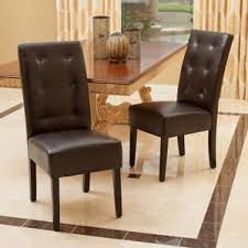 Dining Room Chairs Leather by Genuine Leather Kitchen U0026 Dining Chairs You U0027ll Love Wayfair