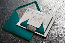 teal wedding invitations real wedding kathryn and luke teal and silver glitter invitations