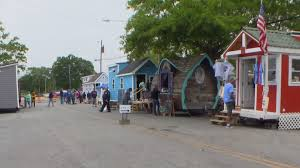 1st tiny house nc street festival held in pink hill
