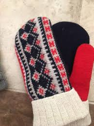sweater mittens llama baked sweater mittens
