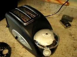 Toaster With Egg Maker Egg U0026 Muffin Toaster In Action Youtube