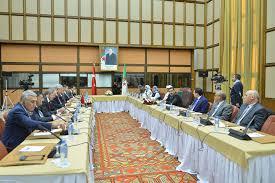 si e de l assembl nationale une délégation de la commission des affaires étrangères présidée par