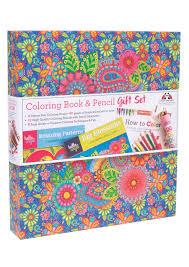 hello angel coloring book gift set fox chapel publishing