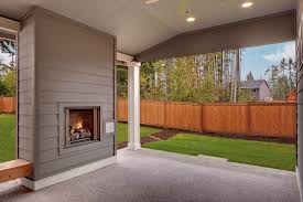 Screen Porch Fireplace by Traditional Porch With Screened Porch U0026 Exterior Fireplace