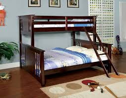 Amazoncom Furniture Of America Steven Bunk Bed Twin Over Queen - King size bunk beds