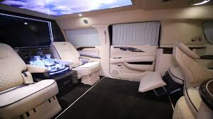 luxury minivan interior presidential custom cadillac escalade suv hq custom design
