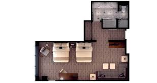 mgm floor plan mgm grand executive queen suite