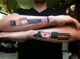 lightsaber forearm tattoos tattoos and ideas pinterest