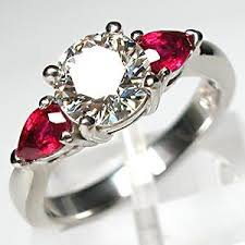 ruby wedding rings ruby engagement ring the best ring to symbolize and