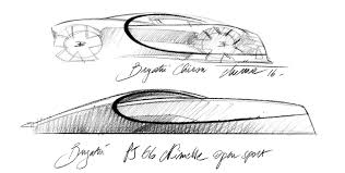 bugatti drawing an exclusive sneak peek at the radical new bugatti u0027supercar