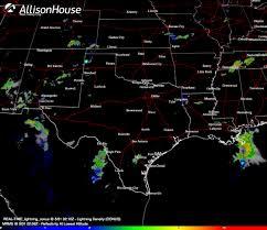 Austin Radar Map by Storm Hunter Allisonhouse Weather Data