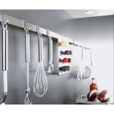 100 pics ustensiles de cuisine barre porte ustensiles de cuisine inox de 40 à 100 cm rosle