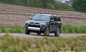 toyota 4runner interior 2017 2017 toyota 4runner in depth model review car and driver