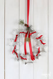 diy cookie cutter wreath inspired by charm
