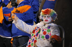 albuquerque spirit halloween store fans dressed up in halloween costumes during the world series and