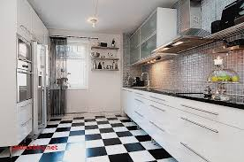 deco cuisine noir et blanc carrelage mural cuisine blanc 10 10 pour idees de deco de cuisine