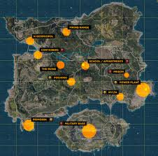 pubg map loot starting out in battlegrounds pubg guides intel hub