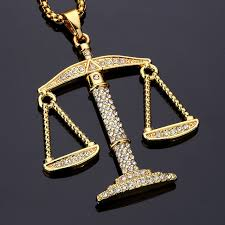 aliexpress buy nyuk new arrival men ring gold aliexpress buy justice balance scales pendant necklace