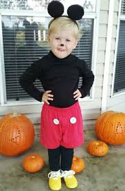 Mickey Mouse Halloween Costumes 25 Diy Toddler Halloween Costumes Ideas