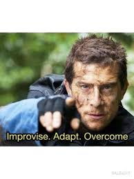 Bear Grylls Meme - improvise adapt overcome meme bear grylls iphone cases covers by