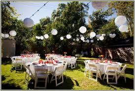 Ideas For Backyard Weddings Spring Outdoor Wedding Ideas