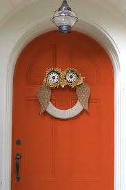 Make At Home Halloween Decorations by 30 Diy Halloween Wreaths How To Make Halloween Door Decorations