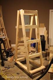Plywood Storage Rack Free Plans by Easy Portable Lumber Rack Free Diy Plans Lumber Rack