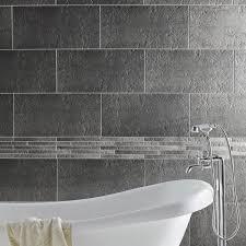 carrelage cuisine sol leroy merlin carrelage sol et mur gris vestige l 30 x l 60 cm leroy merlin