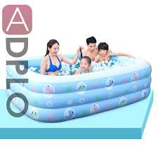 Garten Pool Aufblasbar Online Get Cheap Rechteck Aufblasbare Pool Aliexpress Com