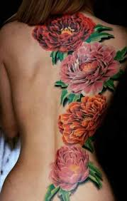 Large Flower Tattoos On - 77 best butterfly and flower tattoos images on flowers