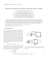 The Pole Barn Beyond The Pole Barn Paradox Paper 64 Special Relativity