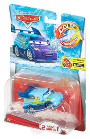 amazon com disney pixar cars color changers dj purple to light