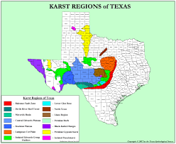 Map Of Texas Hill Country Texas Karst Texas Speleological Survey Tss Cave Records