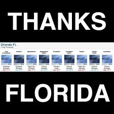 Florida Rain Meme - trust me you don t want to know thanks florida rain weather