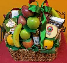 christmas fruit baskets the gourmet fruit basket j m gourmet foods